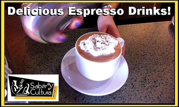 delicious espresso drinks
