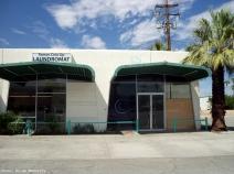 Palm Springs Laundromat Beneath Palm Springs Sky