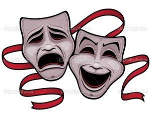 masks, drama comedy