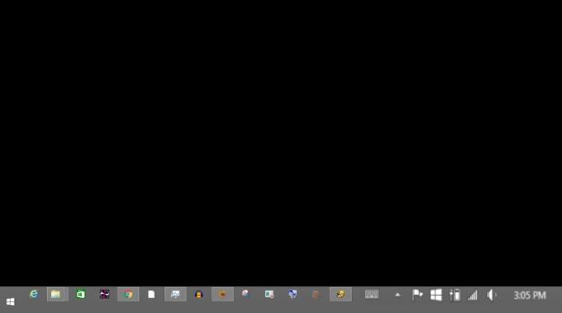 desktop empty